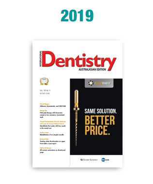 International Dentistry Australasian Edition
